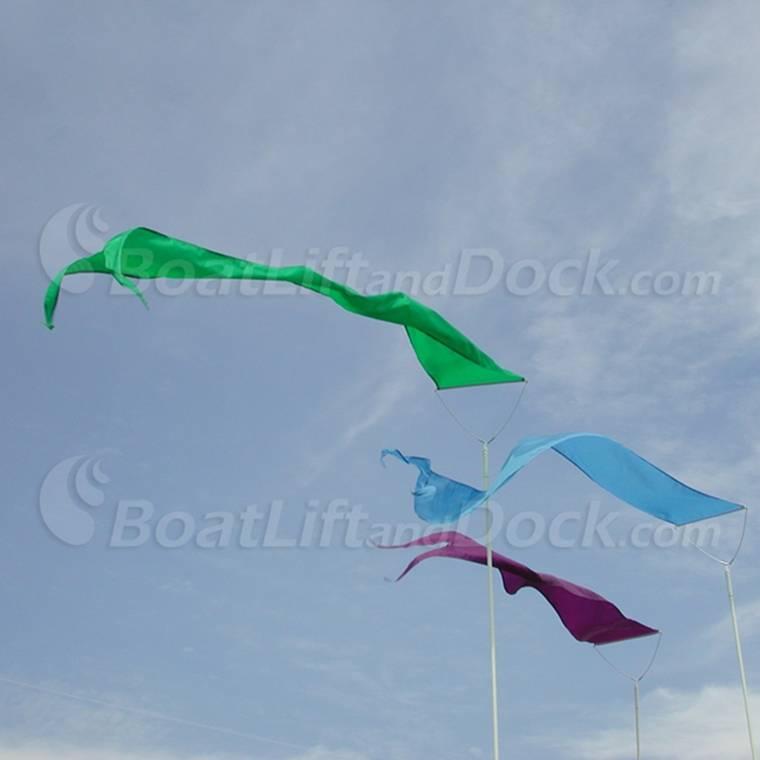 Mid Rise Dori Pole Keep Birds Off Dock Shoreline Or