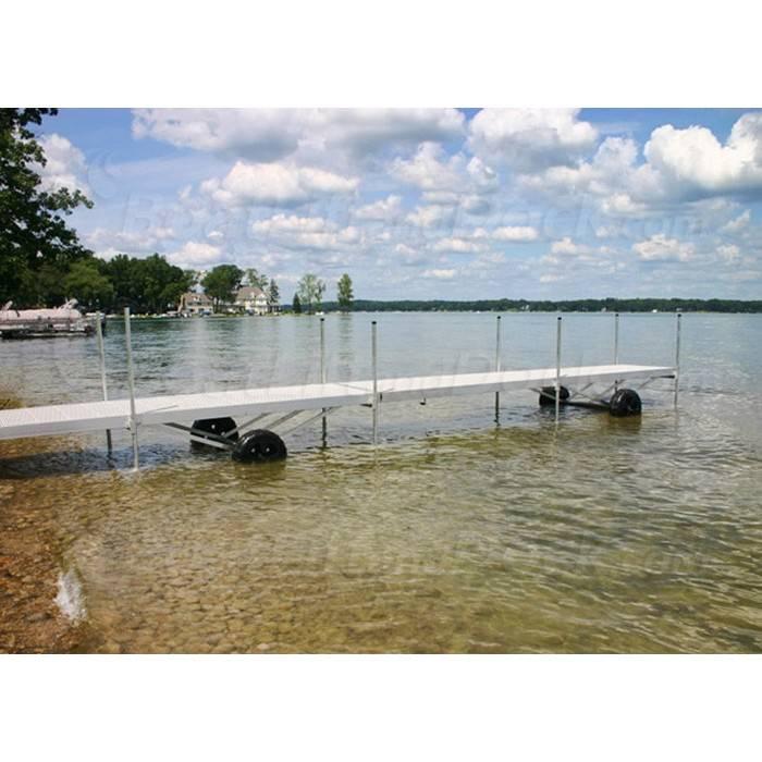 Michigan Rolling Dock Vinyl And Aluminum Roll In Boat Dock