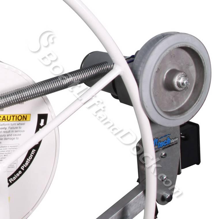 Wheel Drive Boat Lift Motor Lift Tech 110v Wheel Drive
