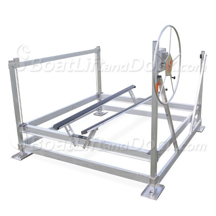 CraftLander MH-V60120-SS - Freestanding Vertical Lift  sc 1 st  BoatLiftandDock.com & CraftLander MH-V60120   6000lb Capacity Boat Lift