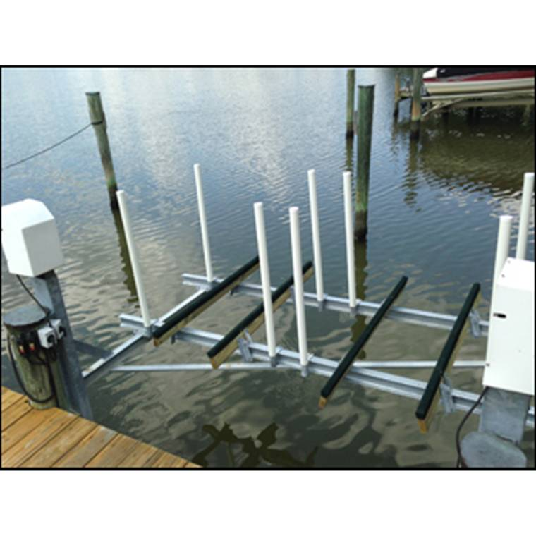 Mini Mag 2800 Lb Capacity Dual Dock Mount Jet Ski Lift