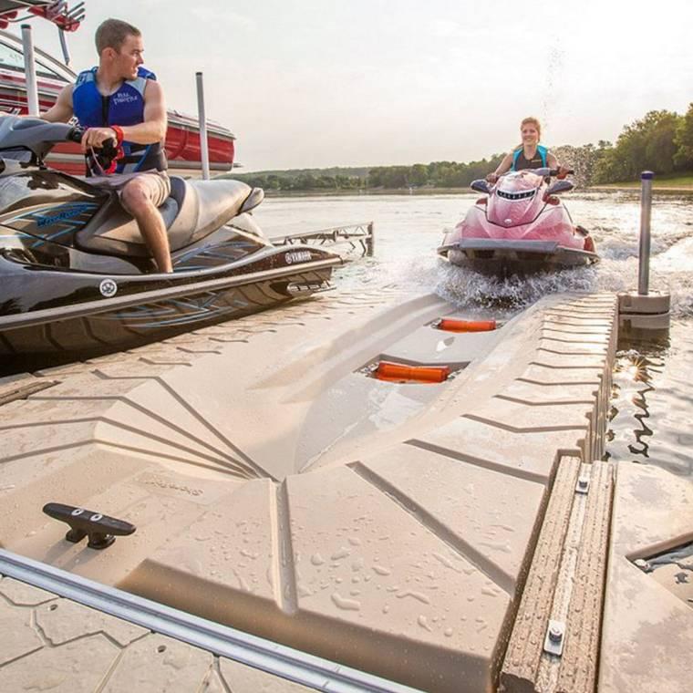Jet Ski Lifts For Sale >> Shoreport Jet Ski Dock Drive On Drive Off Floating Platform