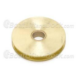 "ShoreMaster 3.5"" Brass Sheave - 1004657"