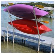 Freestanding Boat Dock Supports and Stands