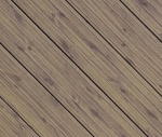 Weathered Woodgrain Aluminum Decking